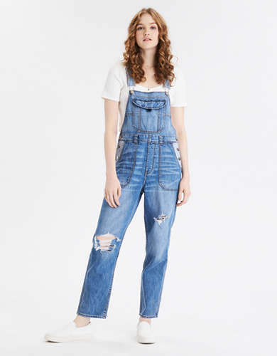 90s Boyfriend Denim Overall