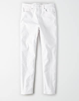 Стрейчевые джинсы мом AE