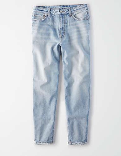 מכנסי ג'ינס MOM משוחררים אמריקן איגל