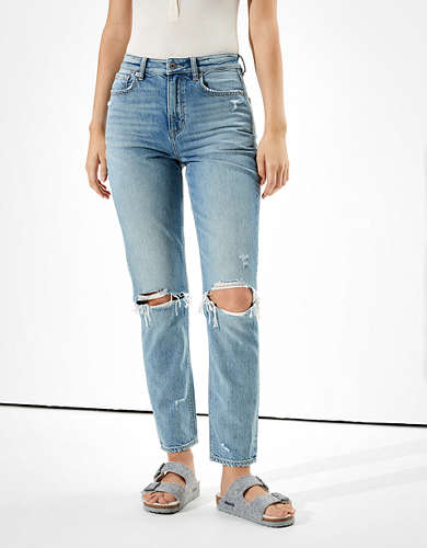Jeans Para Mujer Curvy Jegging Mom Y Mas American Eagle