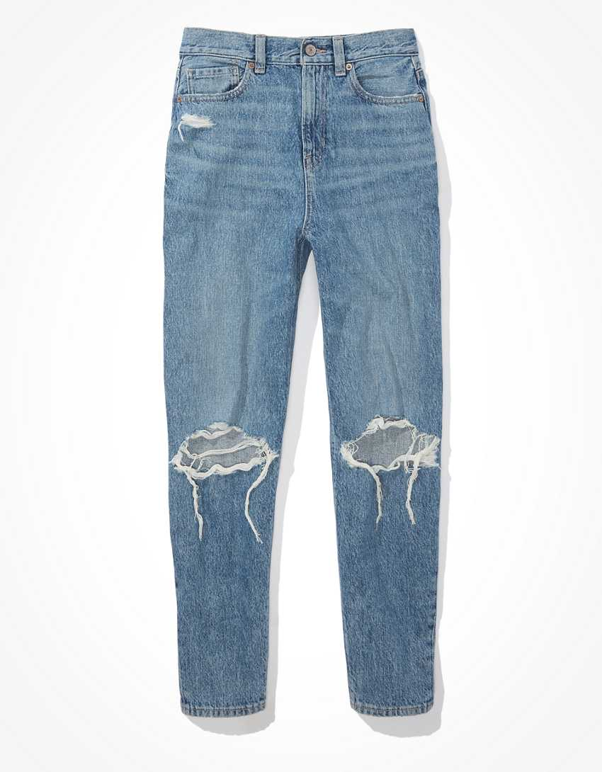 AE Ripped Relaxed Mom Jean