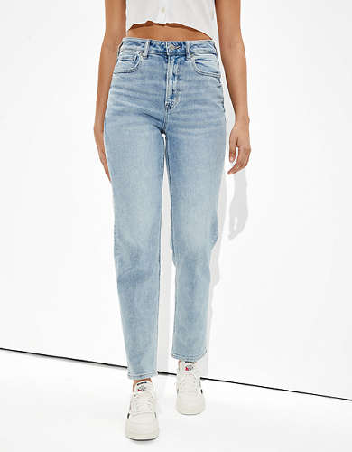 AE Stretch Mom Straight Jean