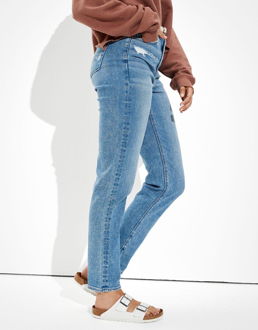 AE Stretch Mom Straight Jean