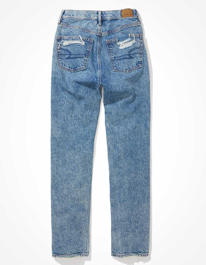 AE Ripped Baggy Mom Jean