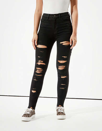 AE Dream Ripped Highest Waist Jegging