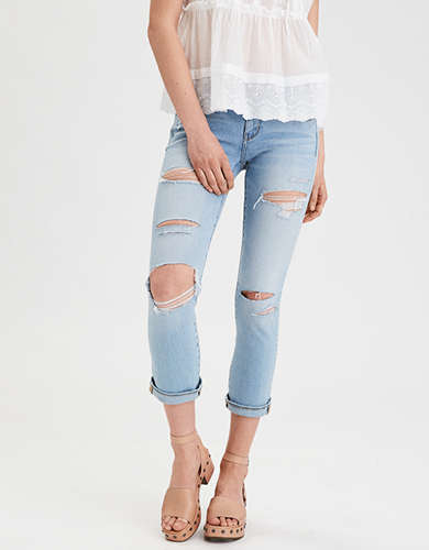 AE Denim X4 Artist(R) Crop Jean