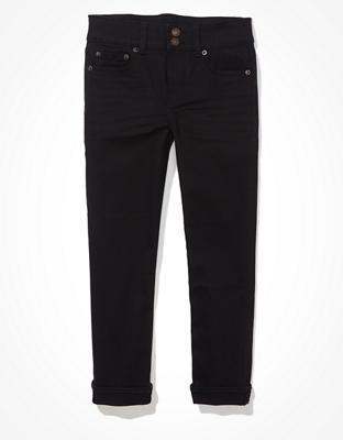 מכנסי ג'ינס ®Ne(x)t Level Artist Crop אמריקן איגל