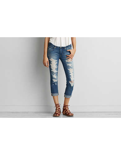 Womens Ripped Jeans - Destroyed Distressed | American Eagle