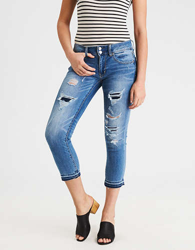 Womens Crop Jeans | American Eagle Outfitters