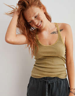 Aerie Lace Saturday Tank