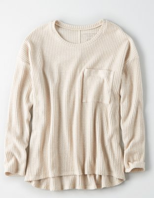 Ae Plush Crew Neck Sweater by American Eagle Outfitters