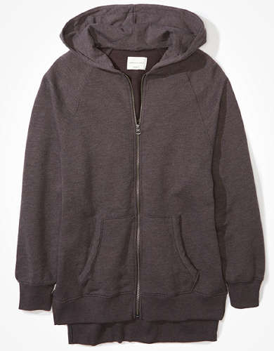 AE Fleece Oversized Zip Up Hoodie