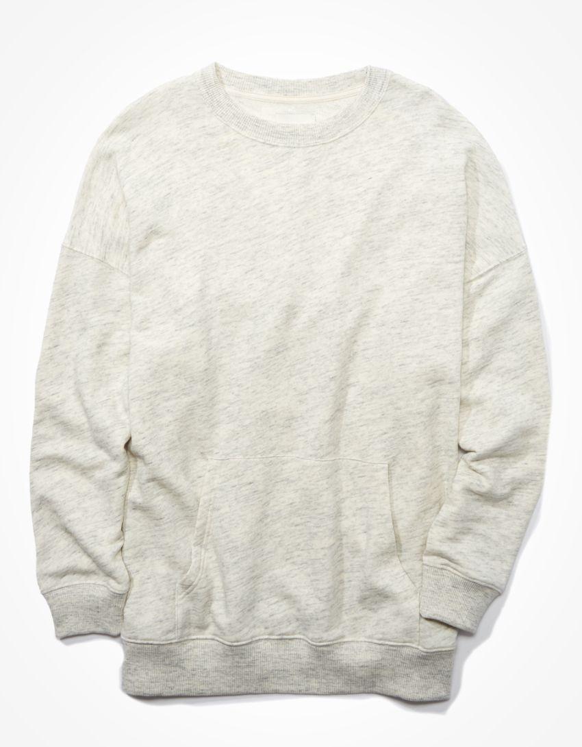 AE Fleece Pocket Crew Neck Sweatshirt