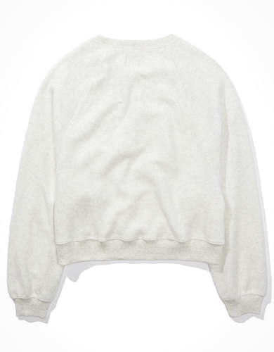 AE Forever Reverse Fleece Crew Neck Sweatshirt