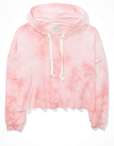 AE Fleece Cropped Boxy Hoodie