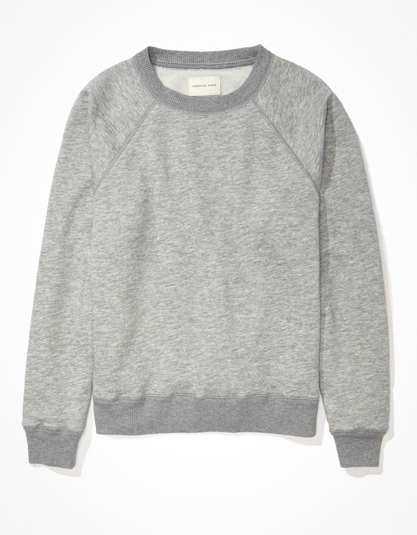 AE Fleece Raglan Crew Neck Sweatshirt