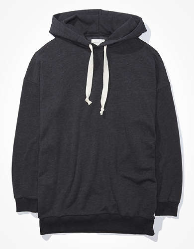 AE Fleece Tunic Hooded Sweatshirt
