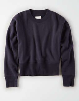 8843a177285f placeholder image AE Ribbed Pullover Sweatshirt ...