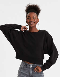 AE Fleece Cropped Sweatshirt