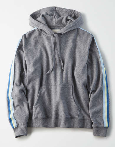 AE Fleece Side Taping Hoodie