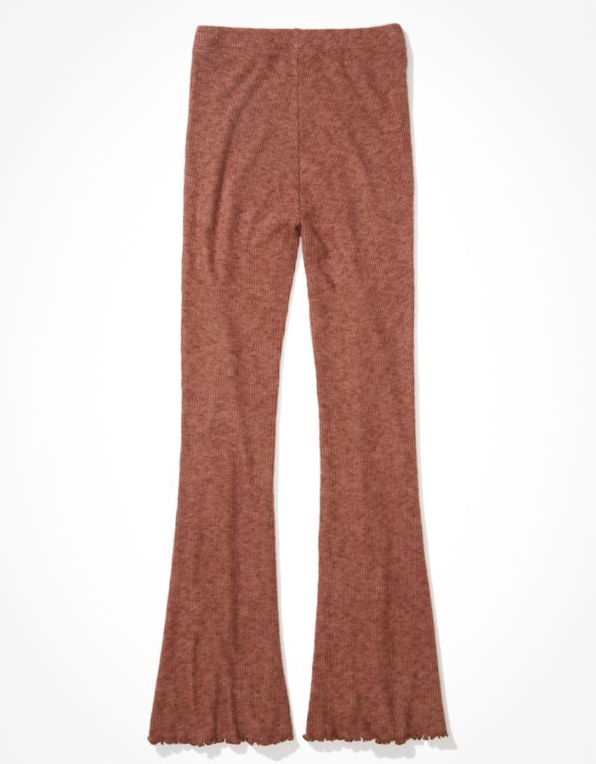 AE Fleece Lounge Flare Pant