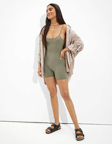 AE The Everything Bike Short Bodysuit