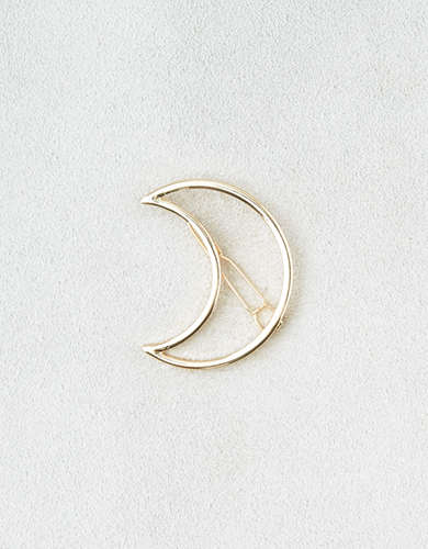 AEO Gold Moon Barrette -