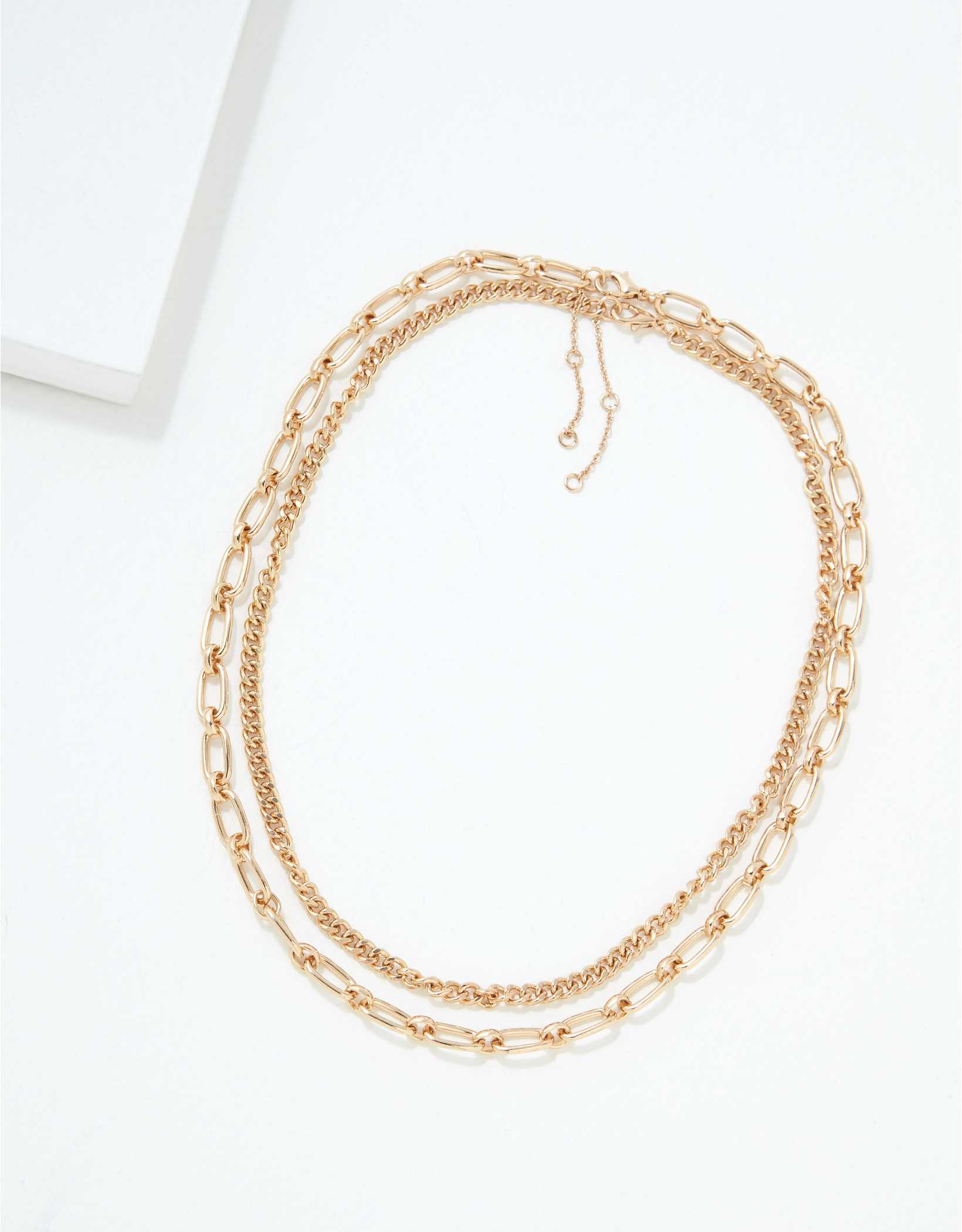AEO Chunky Chain Necklaces 2-Pack