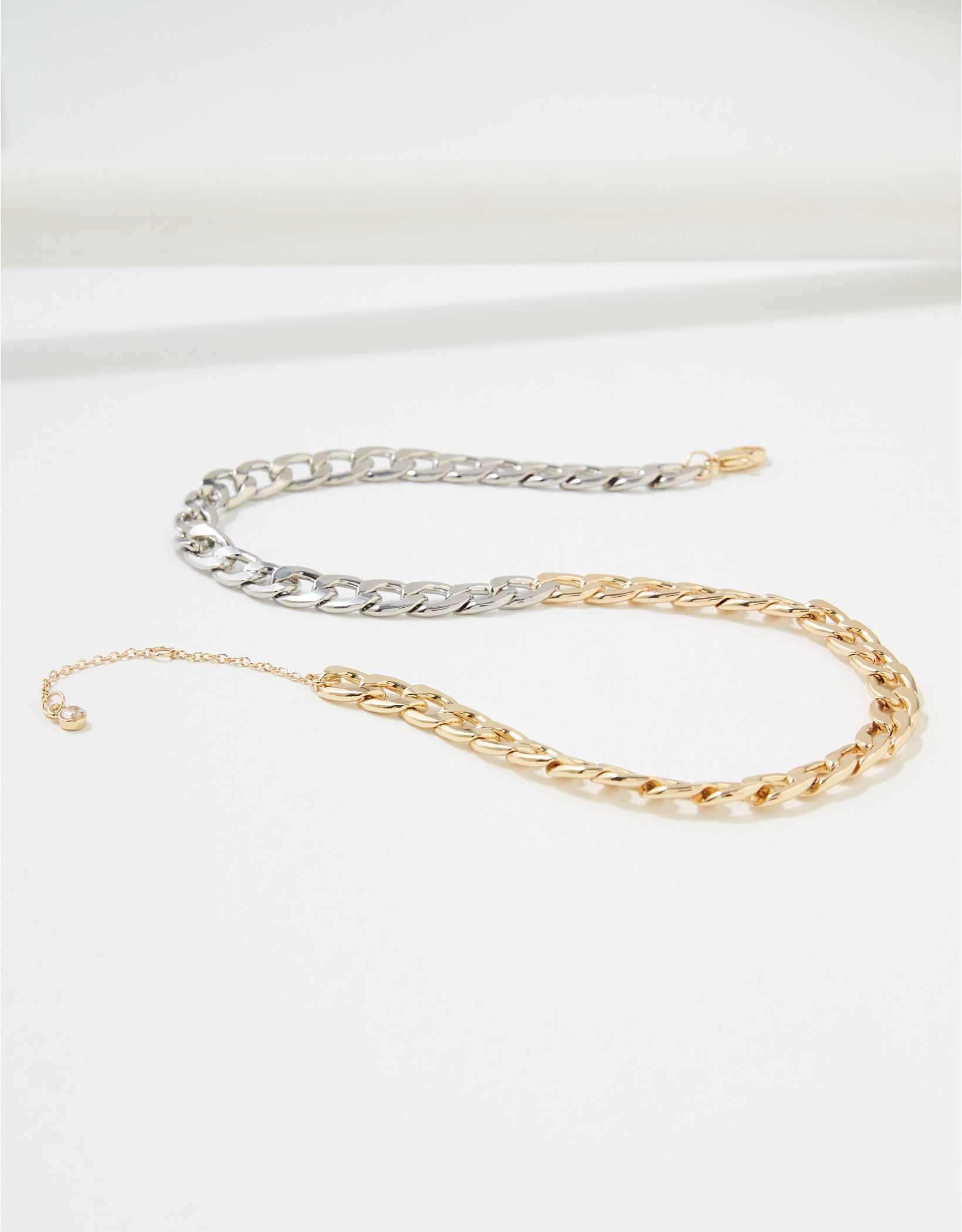 AEO Two-Tone Chain Necklace