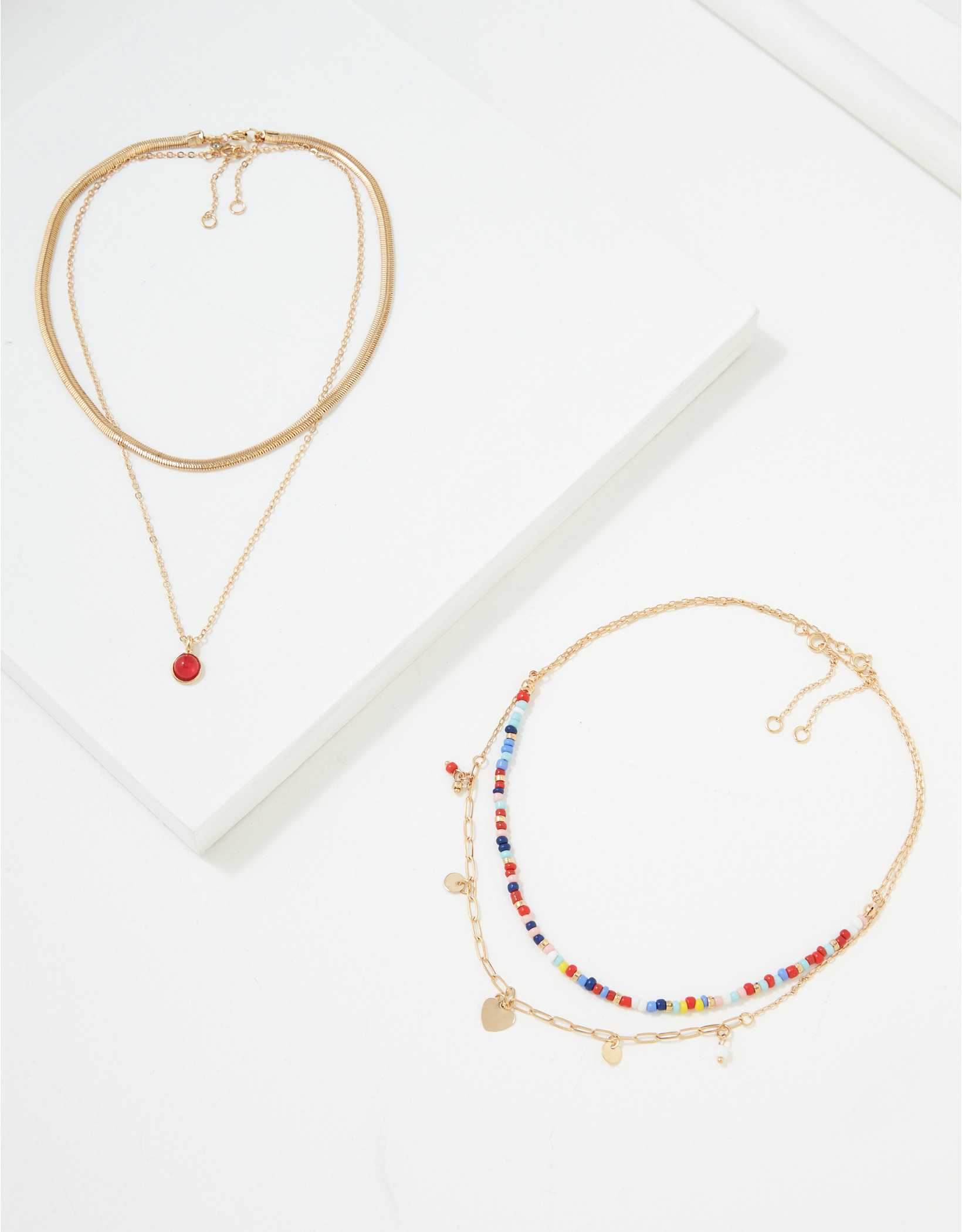 AEO Beaded Necklaces 4-Pack
