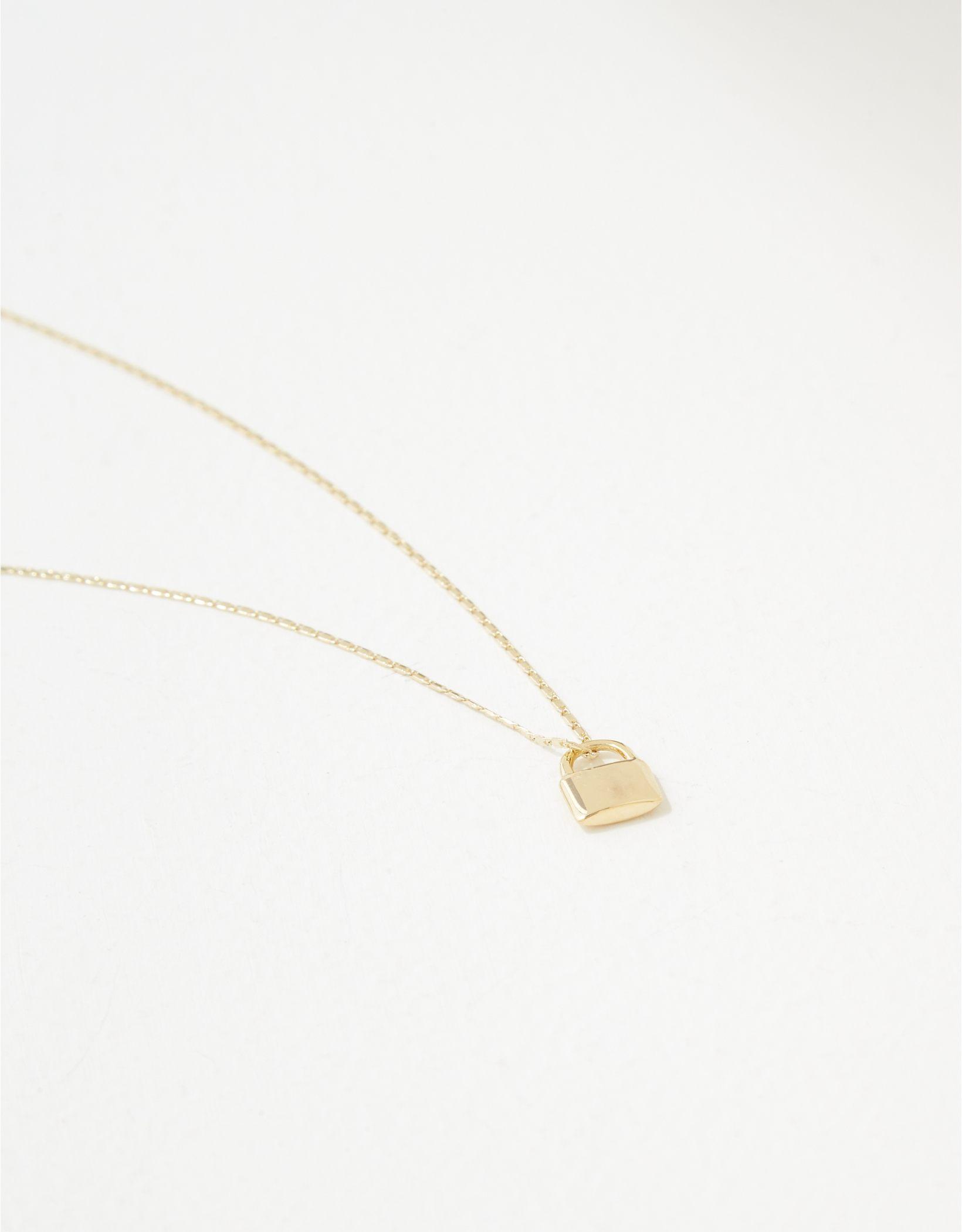 AE Demi-Fine 14K Gold Locket Necklace