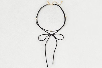 Double Layer Bow Choker