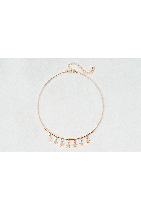 AE Dangle Star Charms Collar