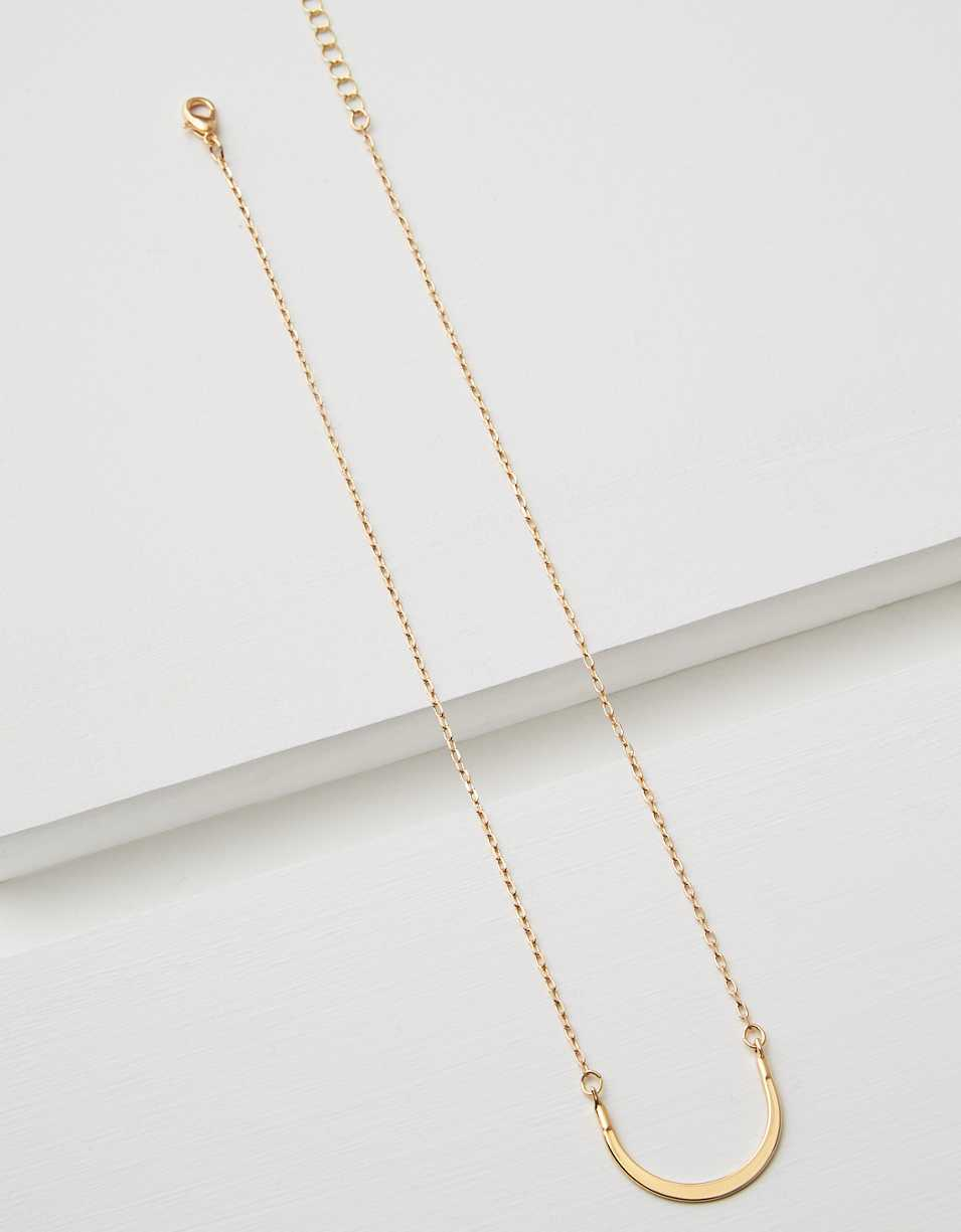 AEO Charm Crescent Necklace Base