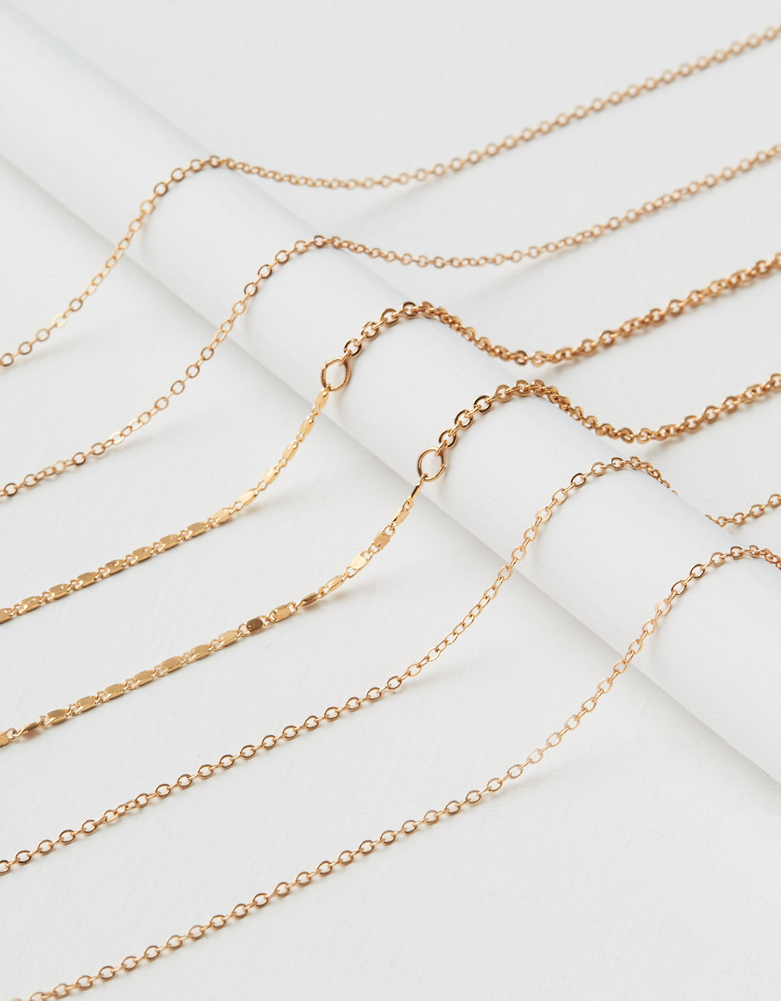 AEO Charm Necklace Base 3-Pack