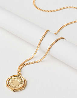 Aeo Coin Necklace by American Eagle Outfitters