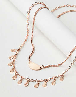 AE Dainty Layering Necklace