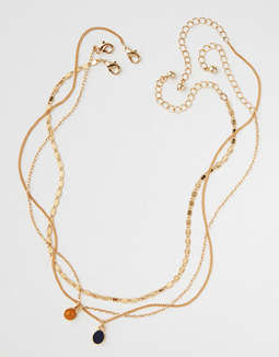Ae Semi Precious Layering Necklace by American Eagle Outfitters