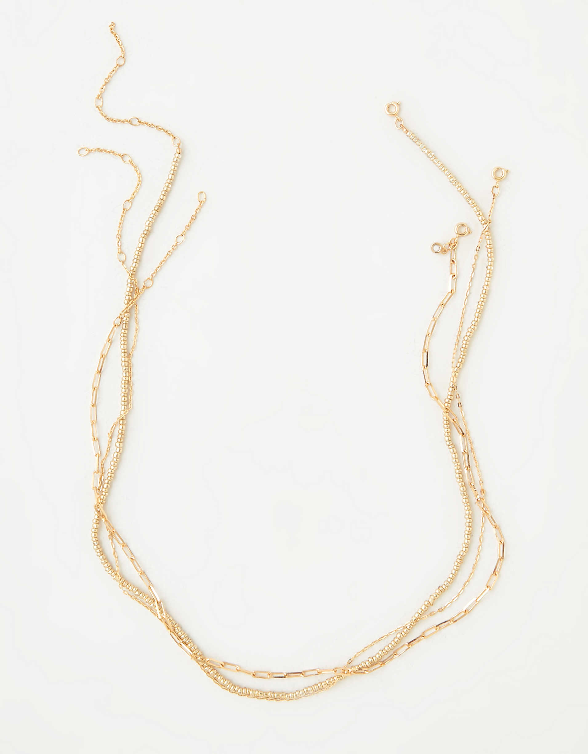 AEO Beaded Necklace 3-Pack
