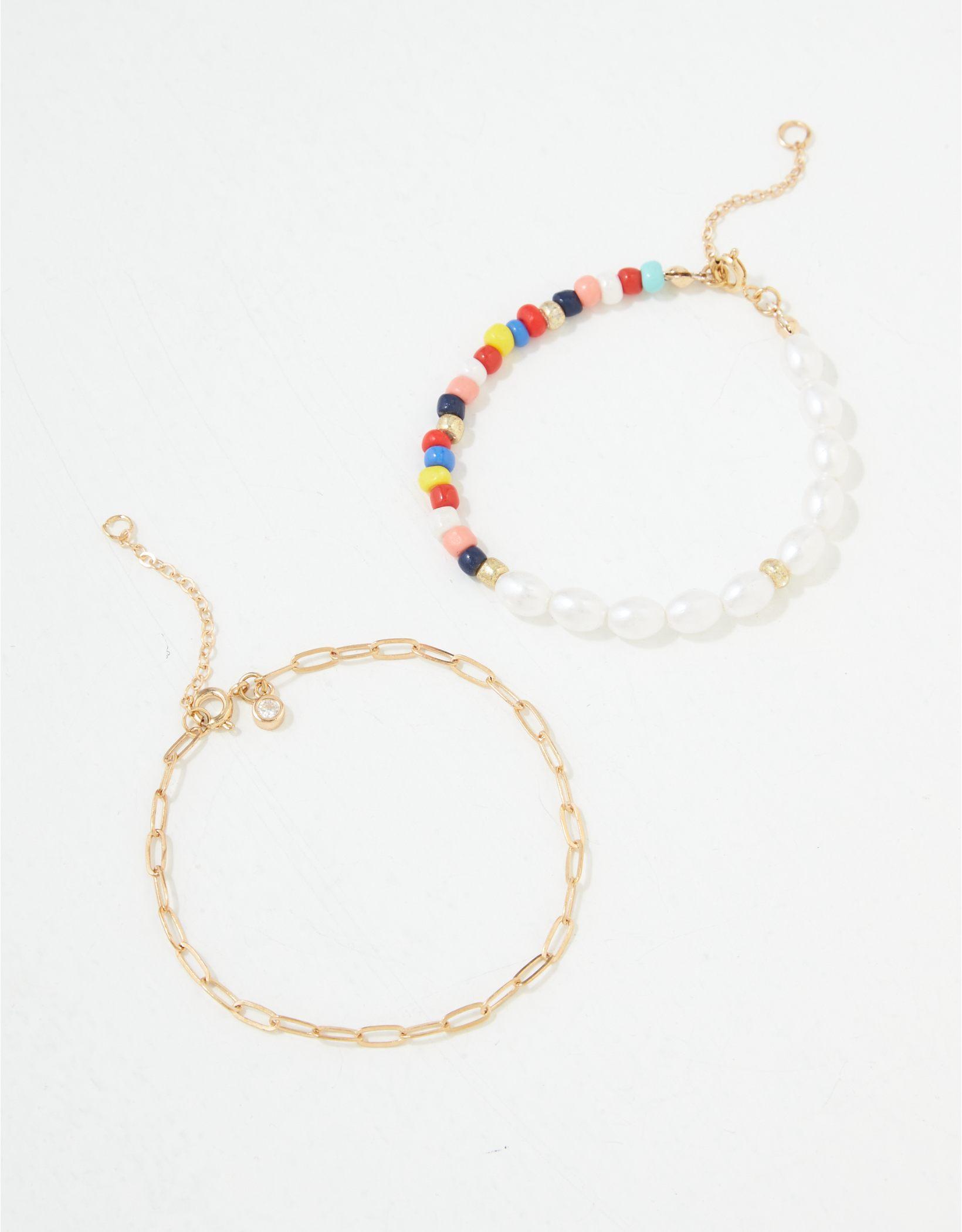 AE Beaded Bracelet 2-Pack