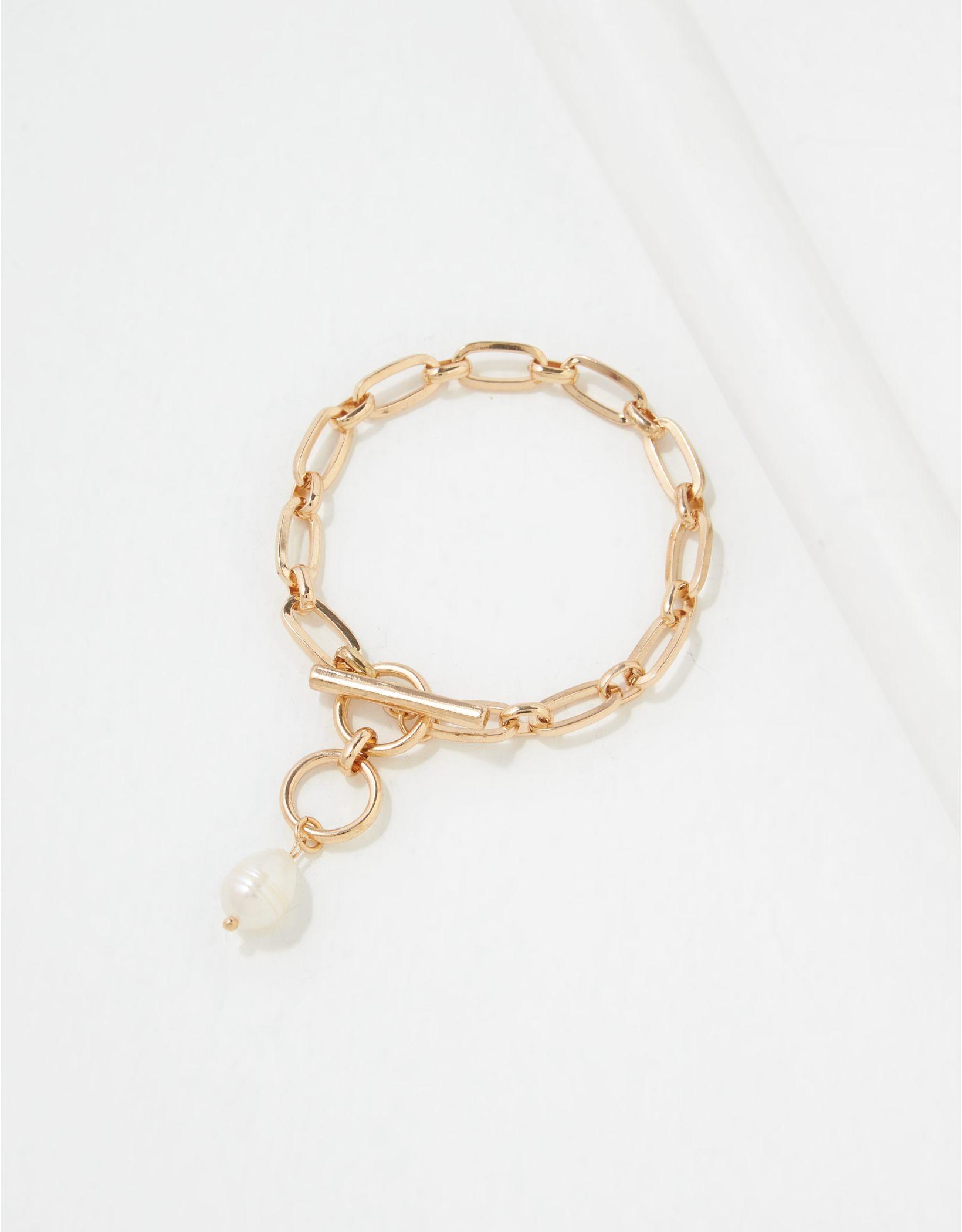 AEO Pearl Toggle Bracelet