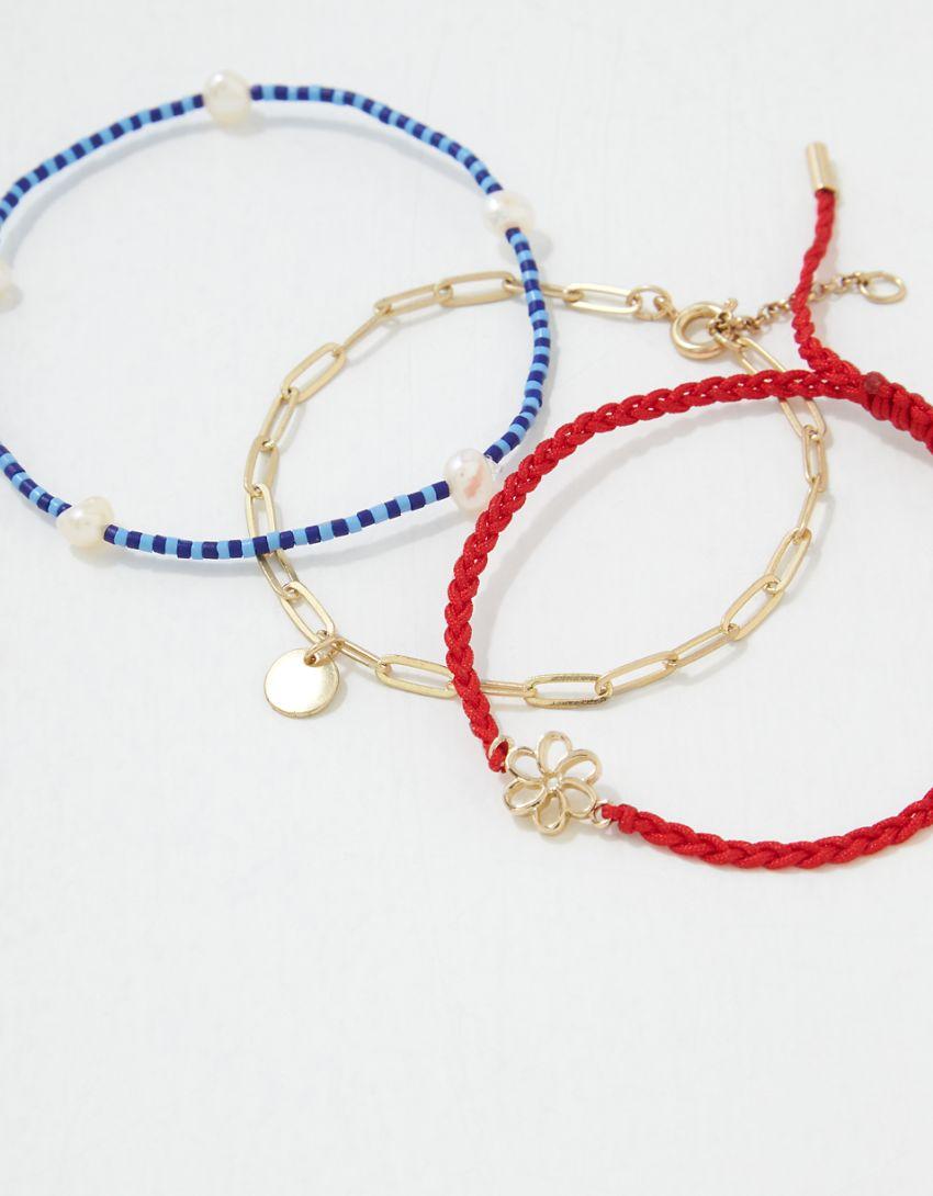 AEO Motif Bracelet 3-Pack