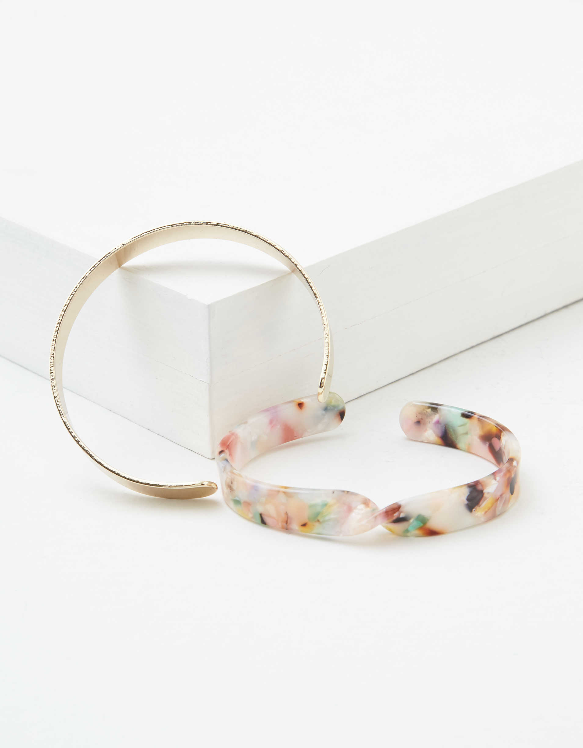 AEO Multi Resin Bracelets 2-Pack