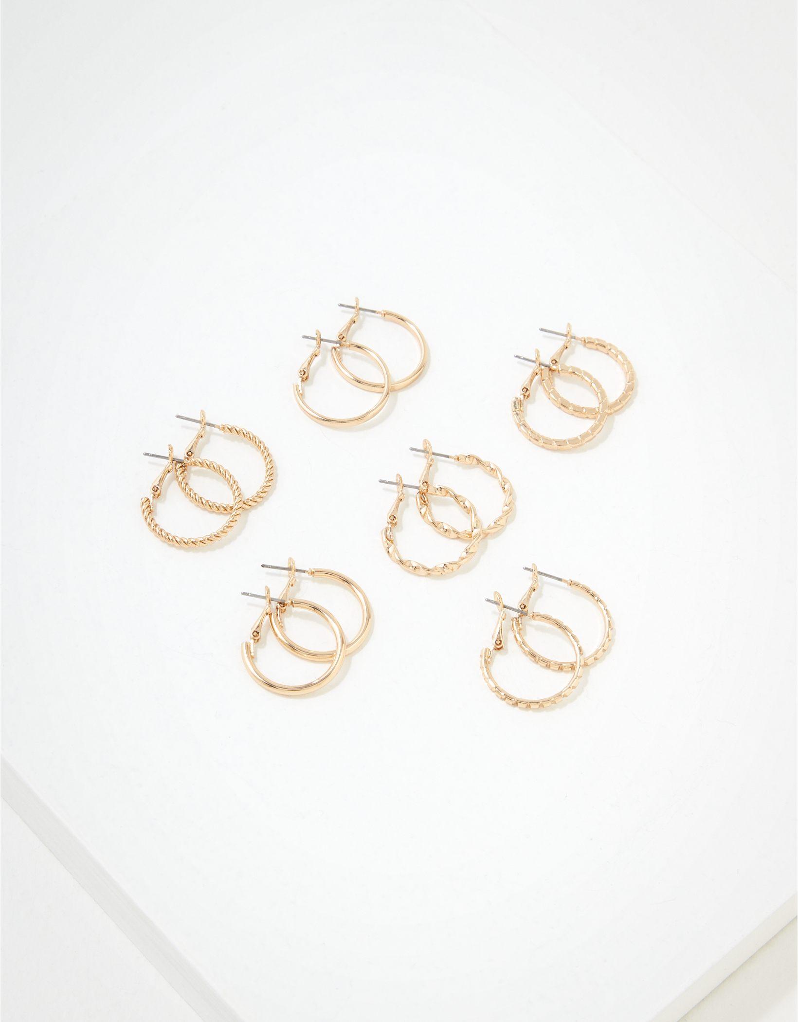 AEO Hoop Earrings 6-Pack