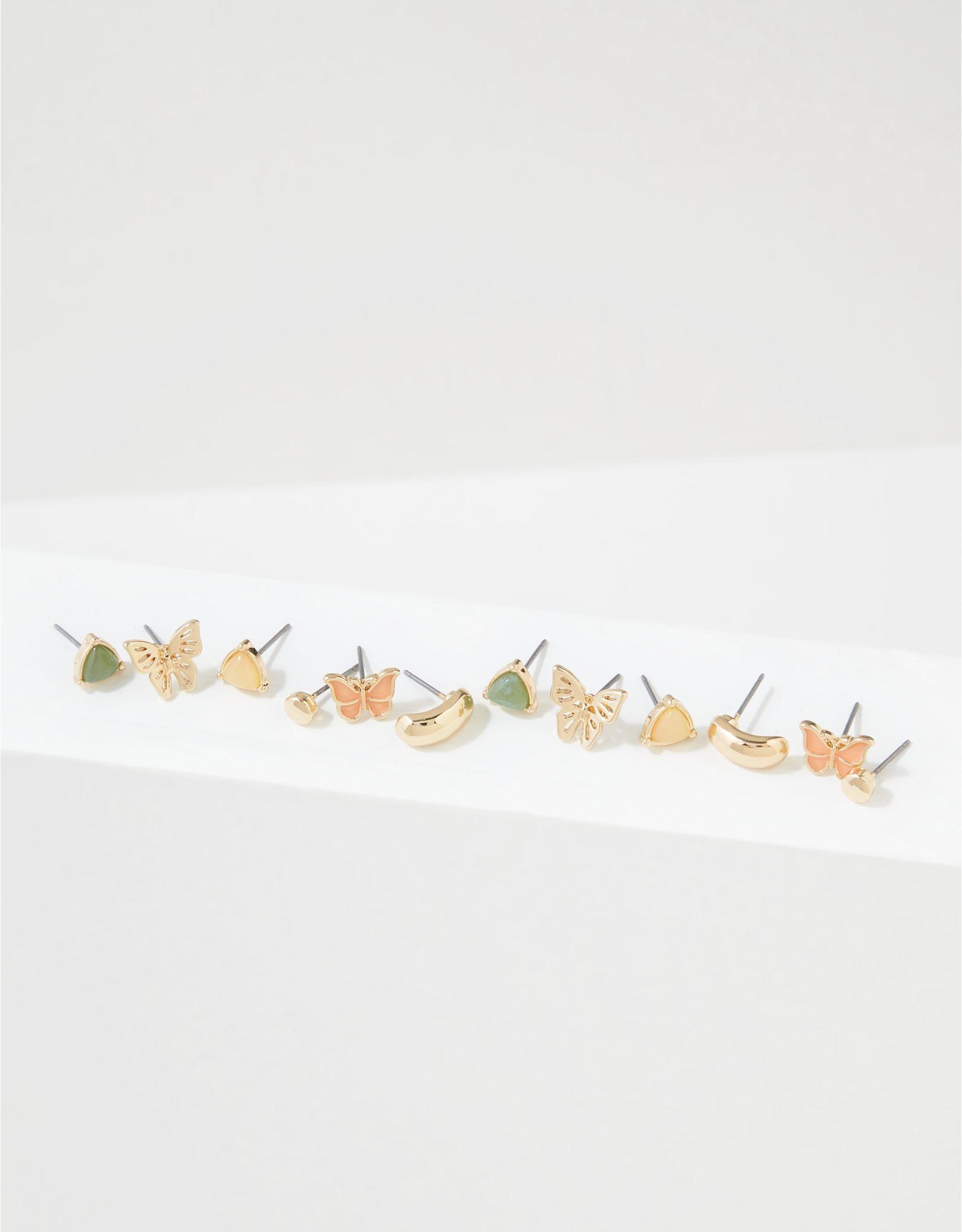AEO Butterfly Earrings 6-Pack