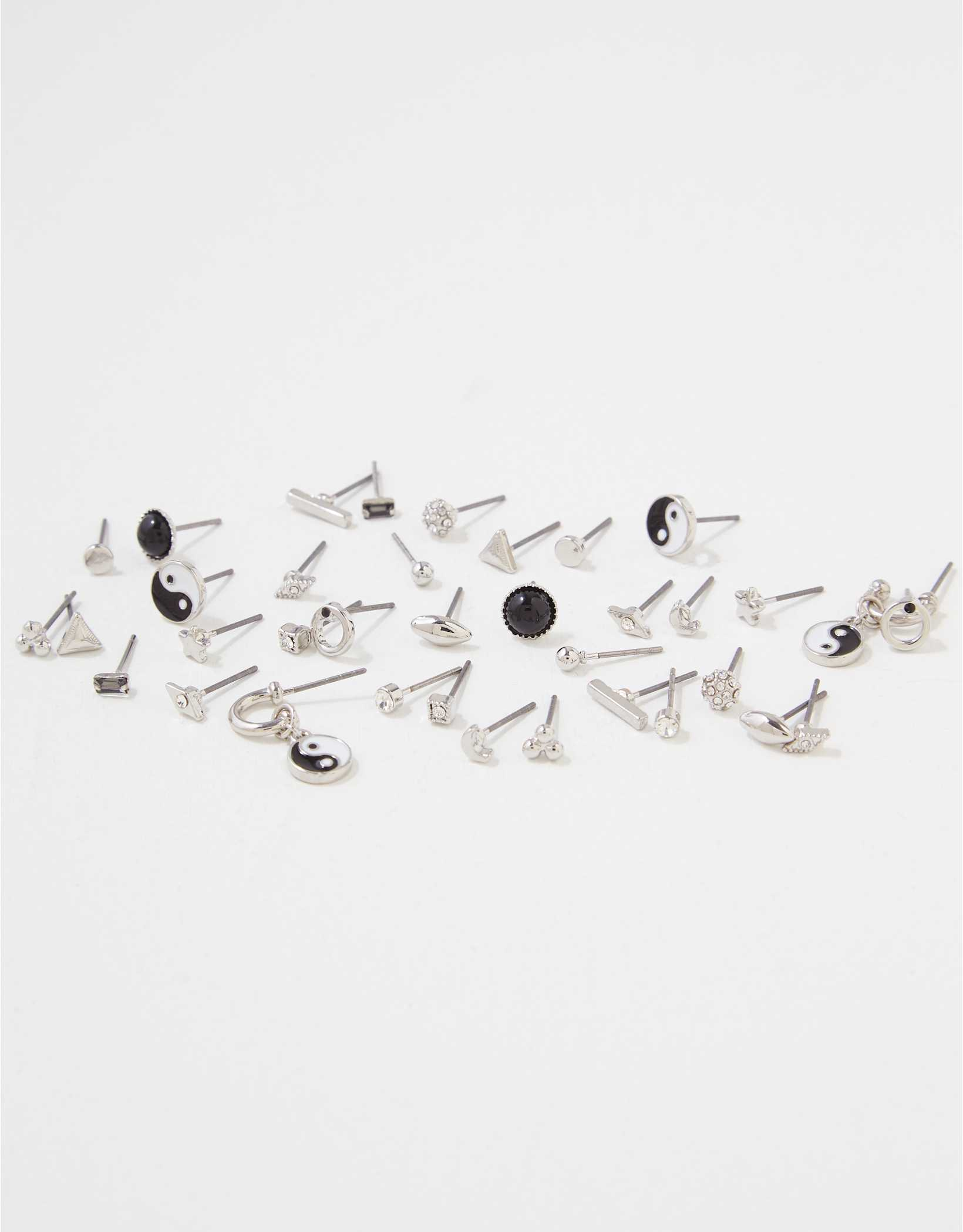 AEO Yin + Yang Earring 18-Pack