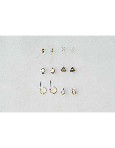 AEO Stud Earrings 6-Pack  - Buy 3 for $30 USD