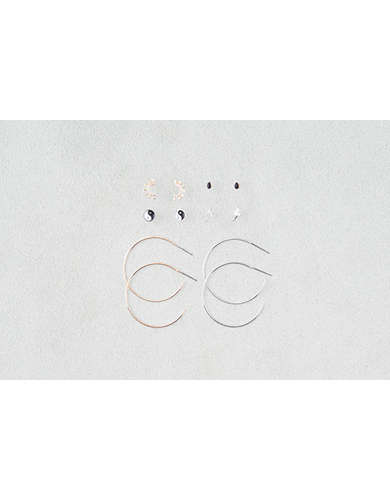 AEO Mixed Symbols and Hoops 6-Pack  - Buy 3 for $30 USD