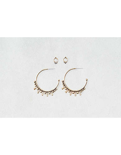 AEO Hoop & Studs Earrings 2-Pack -
