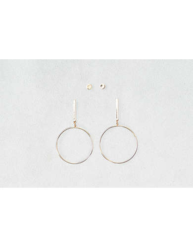 AEO Hoop & Balls Earrings 2-Pack -